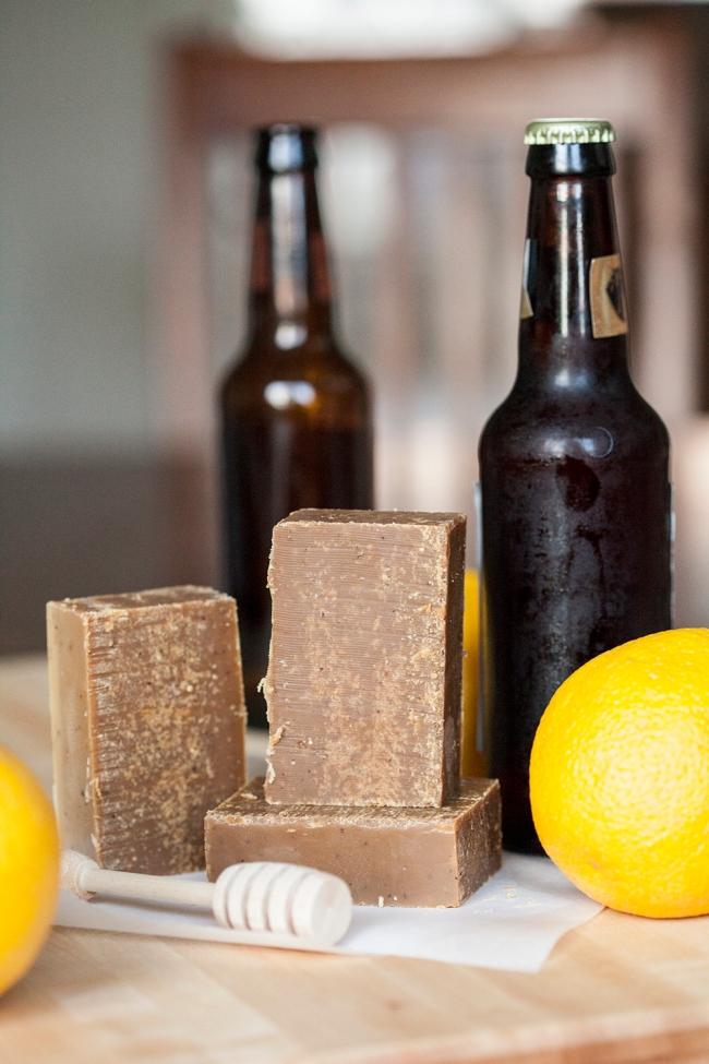 citrus honey scotch ale soap