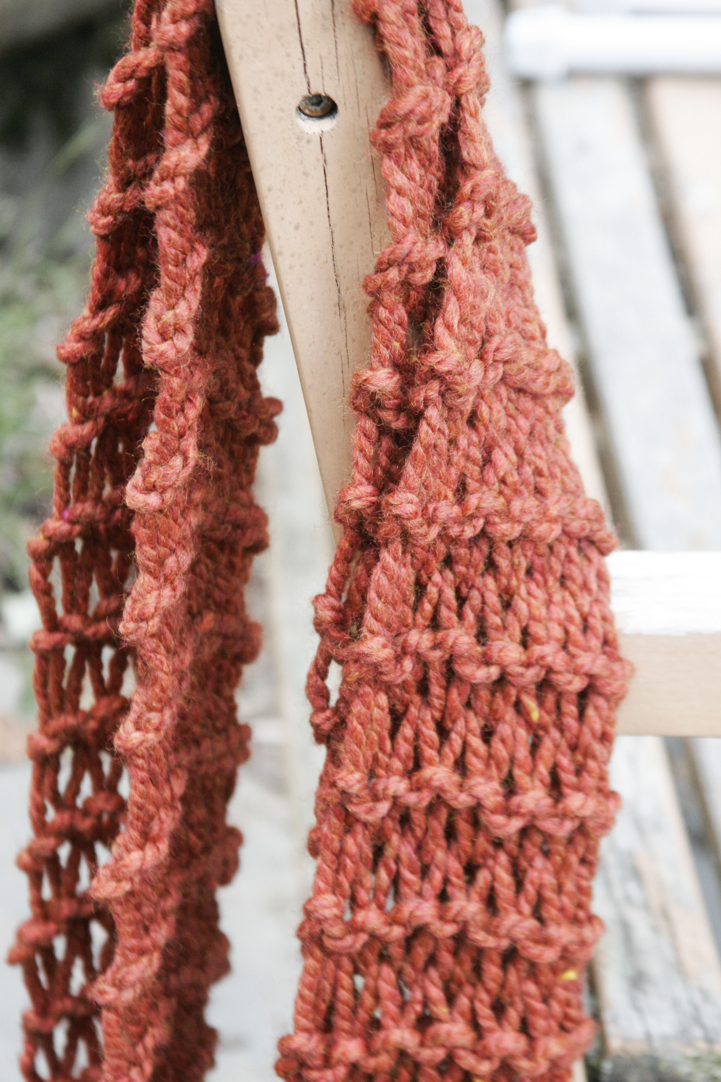 Learning (and relearning) to Knit