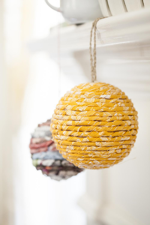 Как сделать объемный новогодний шар