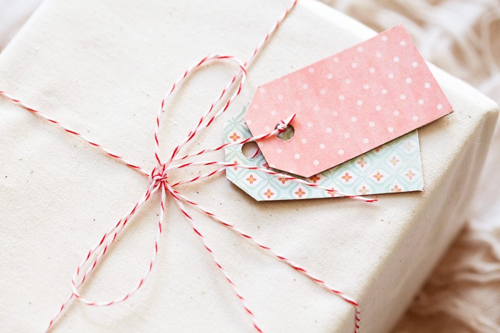 DIY Cereal Box Gift Tags