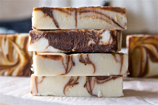 Peppermint Mocha Soap 1